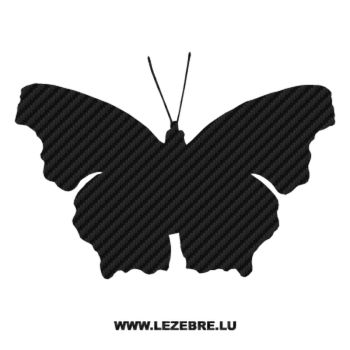 Butterfly Carbon Decal 07