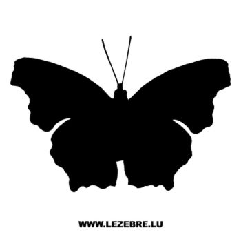 Butterfly Decal 07
