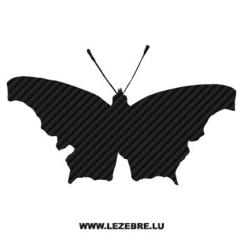 Butterfly Carbon Decal 08