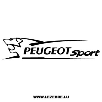Sticker Peugeot Sport Lion