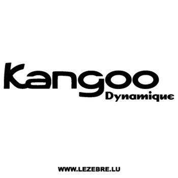 Renault Kangoo Dynamique Decal