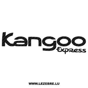Renault Kangoo Express Carbon Decal