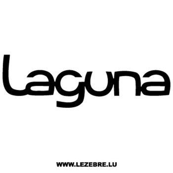 Renault Laguna Decal 2