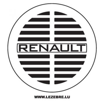 Renault Old Logo Decal 2