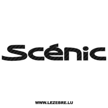 Renault Scénic Carbon Decal