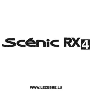 Renault Scénic RX4 Carbon Decal