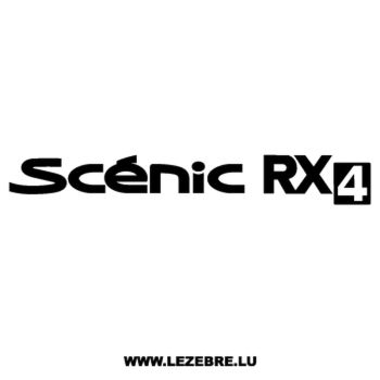 Renault Scénic RX4 Decal