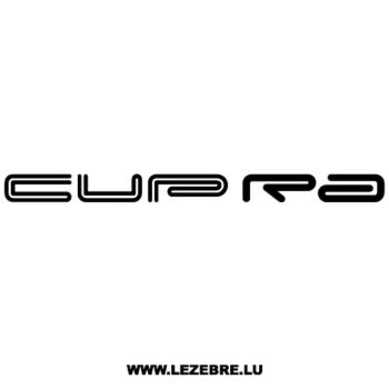 Seat Cupra Decal