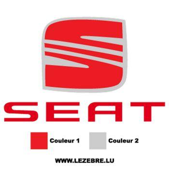 Seat Logo Decal 2