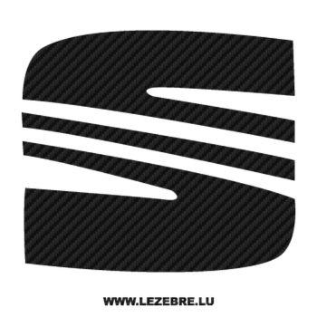 Seat Logo Carbon Decal 3