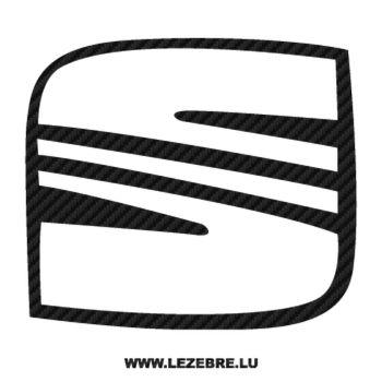 Sticker Karbon Seat Logo 4