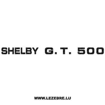 Sticker Carbone Ford Shelby GT 500
