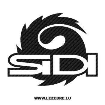 Sticker Carbone Sidi Logo