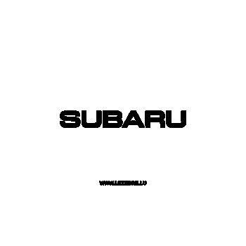 Subaru Decal