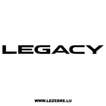 Subaru Legacy Decal