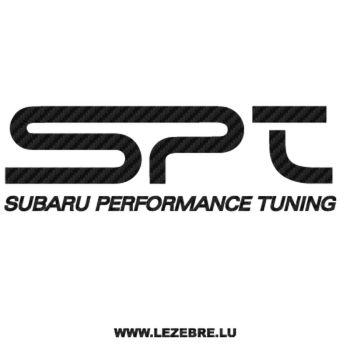 Sticker Karbon Subaru Performance Tuning