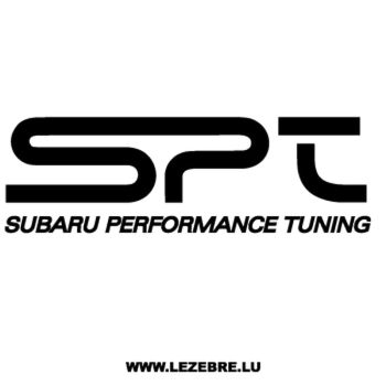 Subaru Performance Tuning Decal