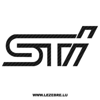 Sticker Karbon Subaru Tecnica International STI