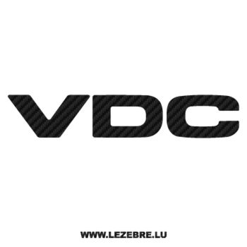 Subaru VDC Carbon Decal