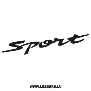 Sticker Karbon Suzuki Swift Sport