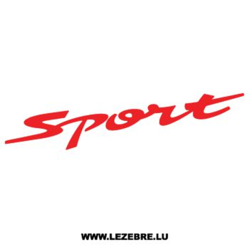 Suzuki Swift Sport Decal