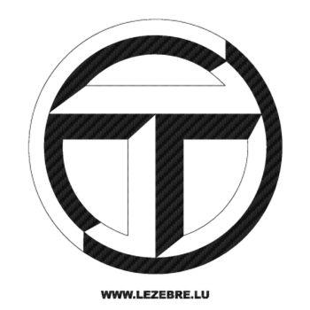 Talbot Logo Carbon Decal