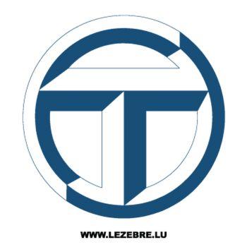 Sticker Talbot Logo