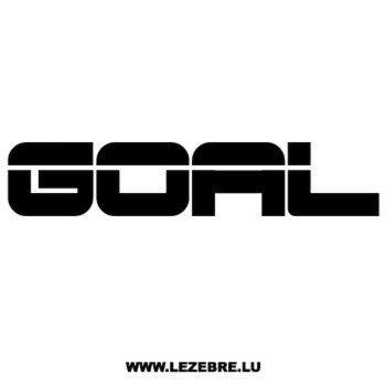 Sticker Volkswagen Goal