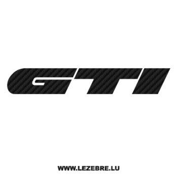 Sticker Karbon Volkswagen Golf GTI