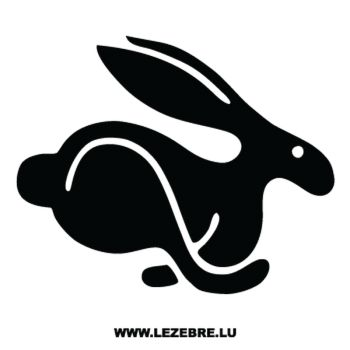 Volkswagen Rabbit Lapin Decal