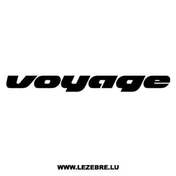 Sticker Volkswagen VW Voyage
