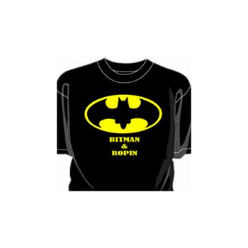 T-Shirt Bitman & Ropin parody Batman
