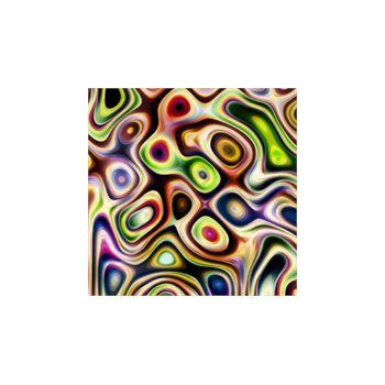 Sticker Déco Cercles Rétro