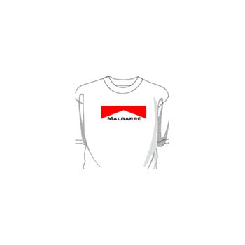 T-Shirt Malbarré parodie Marlboro