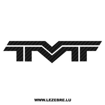 Sticker Carbone TVT Logo