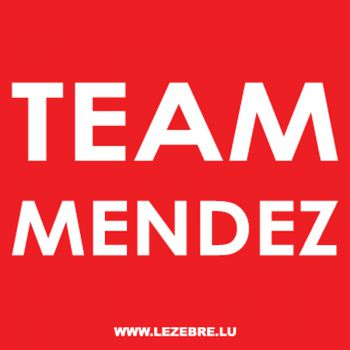 Camping Team Mendez T-shirt