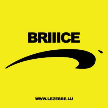 """Casquette """"Briiice"""" de Nice"""