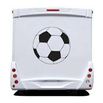 Football Ball Camping Car Decal