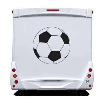 Sticker Camping Car Ballon Football