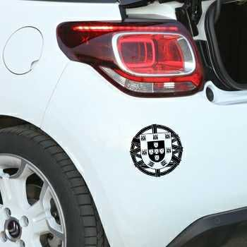 Portugal Escudo Citroen DS3 Decal