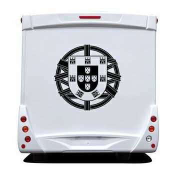 Portugal Escudo Camping Car Decal