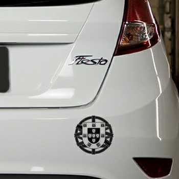 Portugal Escudo Ford Fiesta Decal