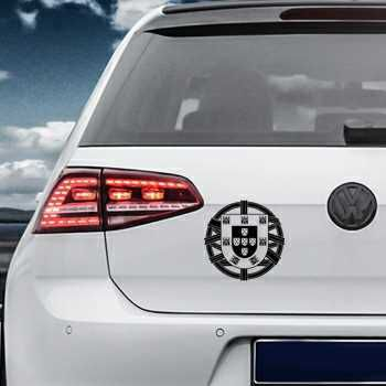 Portugal Escudo Volkswagen MK Golf Decal