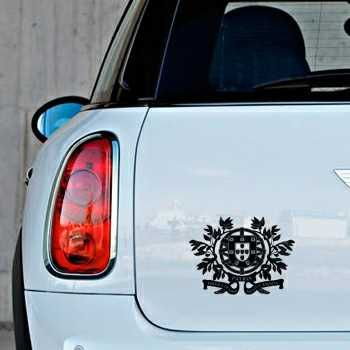 Portugal Escudo Mini Decal 2
