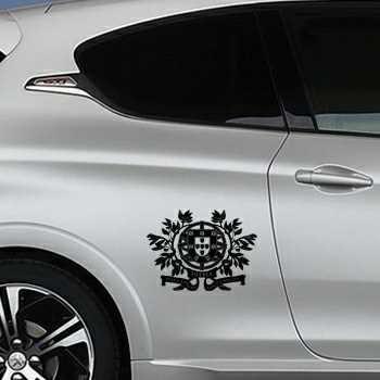 Portugal Escudo Peugeot Decal 2