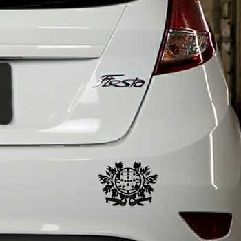 Portugal Escudo Ford Fiesta Decal model nr 2