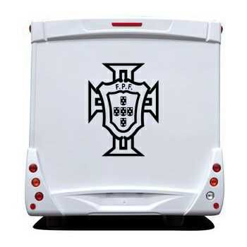 Portugal FPF Camping Car Decal