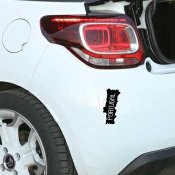 Portugal Continent Citroen DS3 Decal
