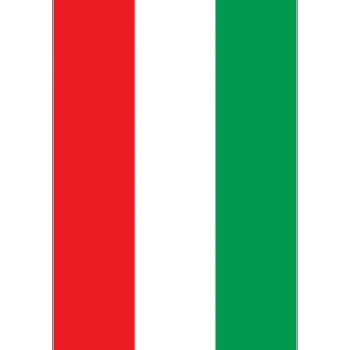 Sticker Banden Moto Flagge Italienn