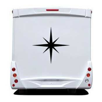 Star Camping Car Decal 1